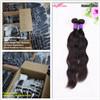 Kann natürliches Wellen-Menschenhaar des heißen Verkaufs-2017 gefärbtes und gebleichtes, bestes Qualitätsperuaner-Haar