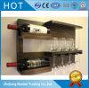 Sostenedores Pared-Colgantes de madera modificados para requisitos particulares antigüedad del vino