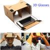 dispositivo polarizado da realidade virtual dos vidros da caixa 3D de 3D Vr