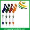 Vente chaude annonçant le crayon lecteur de bille de 3 couleurs avec la corde de collet