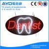 Ovale di Hidly il segno del dentista LED dell'Asia