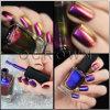 Colorant de caméléon de poudre de scintillement de vernis à ongles