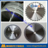 Le CTT en aluminium de découpage scie la lame