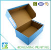 Rectángulos de zapato vacíos impresos aduana de la cartulina del cartón
