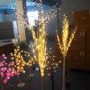 1.5 LEIDENE van de Decoratie van Kerstmis van M Kleine Plastic Kerstboom