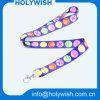 Matériau populaire de polyester personnalisé par lanière de marque nommée