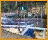 ظهر مركب مسطّحة [يونّن] قصدير يهزّ طاولة