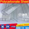 Hoja plástica para el material para techos del invernadero