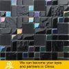 Mosaico di vetro nero con il trattamento di superficie lucido per la parete