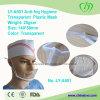 Máscara plástica transparente de la higiene antiniebla Ly-A601