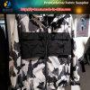 Ткань куртки T400 полиэфира обыкновенная толком эластичная напечатанная, модная ткань  отверстия  рейона (LY-R0103)