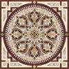 花模様のカーペットのタイルの磨かれた水晶陶磁器の床タイル1200X1200mm (BMP15)