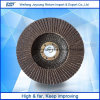 Amoladora fundida Brown 80# de las aplicaciones del disco de la solapa del alúmina T27 y T29