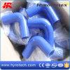 Tuyau de coupleur de réducteur de silicone de coude de 90 degrés