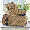 Корзины Seagrass, корзины хранения, домашнее украшение