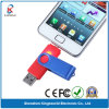 Dos USB Flash Drive de Ports Plastic 8GB OTG para Smart Phone (KW-0143)