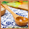 Big en bambou Spoon Soup Spoon pour Tableware (EB-B4188)