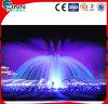 3m Edelstahl-vollständige Verkaufs-Musik-Innenwasser-Brunnen mit buntem LED-Licht