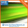 Strato rigido fluorescente giallo del PVC per gli obiettivi ed il bordo del cappello