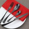 Jeux de vaisselle plate de cuillère de fourche de couteau de couverts d'acier inoxydable
