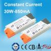 30W LED Stromversorgung mit konstanter Stromabgabe 850mA
