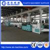 Chaîne de production à une seule couche d'extrusion de pipe de PVC de sortie double avec le prix usine
