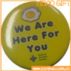 Form Reflect Tin Button Badge für Decoration (YB-BT-02)