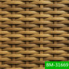 100%년 HDPE 비 유독한 방수 부식 저항 플라스틱 고리버들 세공 (BM-31669)