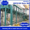 Ligne courante de moulin de maïs en Afrique du Sud