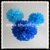 El partido suministra decoraciones del tejido del papel de tejido POM Poms
