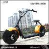 Motocicleta elétrica da cidade 800W 60V da forma para o adulto