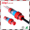 (De gele) Schakelaar van het Blok van het gas, Verzegelende Schakelaars 5/3.5mm van de Kabel van de Vezel van de Buis Optische