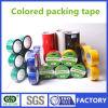 Cinta coloreada pegamento del embalaje de Weijie BOPP