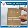 Cartão padrão do plástico do PVC da assinatura Cr80 do VIP
