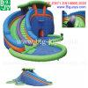 Preiswertes springendes Schloss-aufblasbares Wasser-Plättchen (DJWS019)