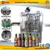 Línea de relleno automática de la cerveza de la botella de cristal