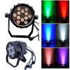 12PCS Waterproof PAR Light voor Stage Lighting