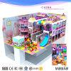 Speelplaats van de Speelplaats van het Thema van het suikergoed de Binnen Zachte Plastic