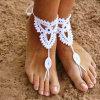 De Hand van de Armband van de enkel haakt de Blootvoetse Strandkleding Swimwear van de Juwelen van de Voet Sandals