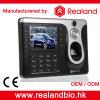 Realandの指紋の時間出席レコーダー