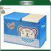 Boîte de stockage 600d portative bleue imprimée par logo adaptée aux besoins du client