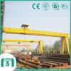 Bmh Model Single Girder Semi-Gantry Crane Capacity jusqu'à 16t