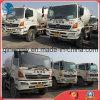 Los Disponible-Sólido-Neumáticos Blanco-Libre-Repintan 10~20ton/6~8cbm usado 6*4-LHD-Drive Japón-Hacen Hino500 el carro del mezclador concreto