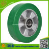 Industrieller elastischer Polyurethan-Aluminiumfußrollen-Rad