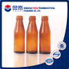 Großhandels300ml Amber Beverage Glass Bottle