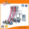 HDPE/LDPE/LLDPE twee HoofdFilm die Plastic Machine blaast