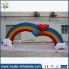 2016 voûtes gonflables colorées commerciales de publicité d'arc-en-ciel à vendre