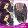 ねじれたStraight 1b#ブラジルのVirgin Human Hair 4*4 Lace Closure