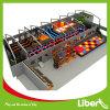 Parque interno do Trampoline do uso comercial extremo dos esportes