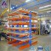 Racking Cantilever resistente ajustável do lado dobro